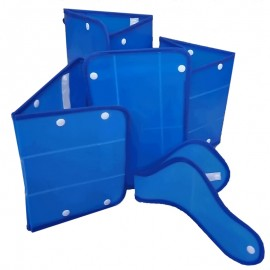 Juego de férulas inmovilizadoras cartonplast pediátrico, Health Solutions.