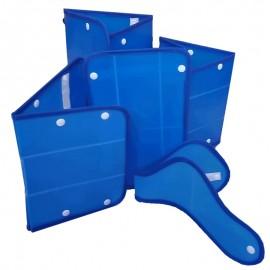 Juego de férulas inmovilizadoras cartonplast adulto, Health solutions.