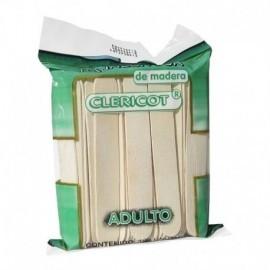 Bajalenguas asépticos caja por 25 bolsas. Paquete de 20 unidades.