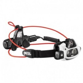Linterna frontal de haz luminoso múltiple, ultrapotente y recargable, Petzl.