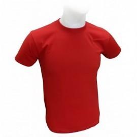 Camiseta cuello redondo en algodón, tallas: s, m, l, xl, producto nacional.