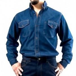 Chaqueta en jean prelavado, tallas: s, m, l, xl, producto nacional.