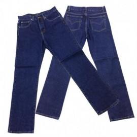 Pantalón en jean prelavado, múltiples tallas, producto nacional.