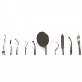Kit para operatoria de 10 instrumentos.