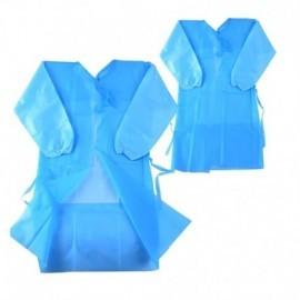 Delantal Desec, bolsa por 10 uds, tejido, azul.