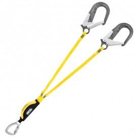 Absorbica-y mgo. Elemento de amarre doble 80 cms Petzl.