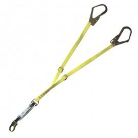 Absorbica-y mgo. Elemento de amarre doble 150 cm Petzl.