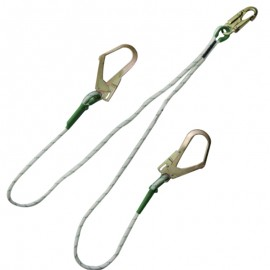 Eslinga de conexión tipo Y en cuerda con ganchos estructureros Sosega.