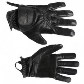 Perfect glove. Guantes de cuero con refuerzo de gamuza, Edelweiss.