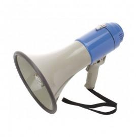 Megáfono de mano con sirena y micrófono integrado, Producto importado.