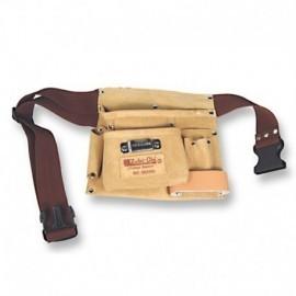 Cinturón porta herramientas de 2 bosillos grandes, Zubi-ola.