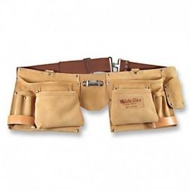 Cinturón porta herramientas con 4 bolsillos grandes, Zubi-ola.