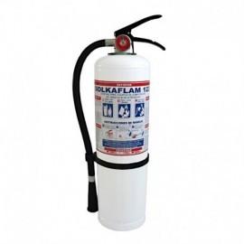 Extintor Solkaflam de 20 libras, producto nacional.