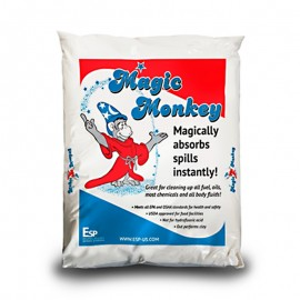 Absorbente industrial en polvo o granulado x 5 kg, producto importado.