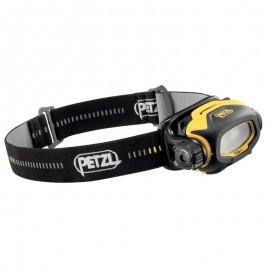 Linterna frontal adaptada a la visión de cerca Pixa 1, Petzl.