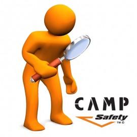 Curso de inspección para equipos, Camp Safety.