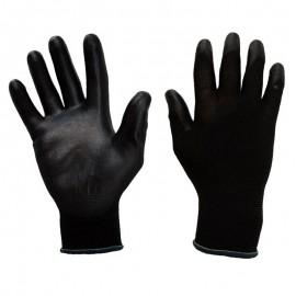 Guantes en algodón recubierto en poliuretano, Producto importado.