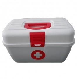 Botiquín lonchera de primeros auxilios, sin dotación, Health solutions.