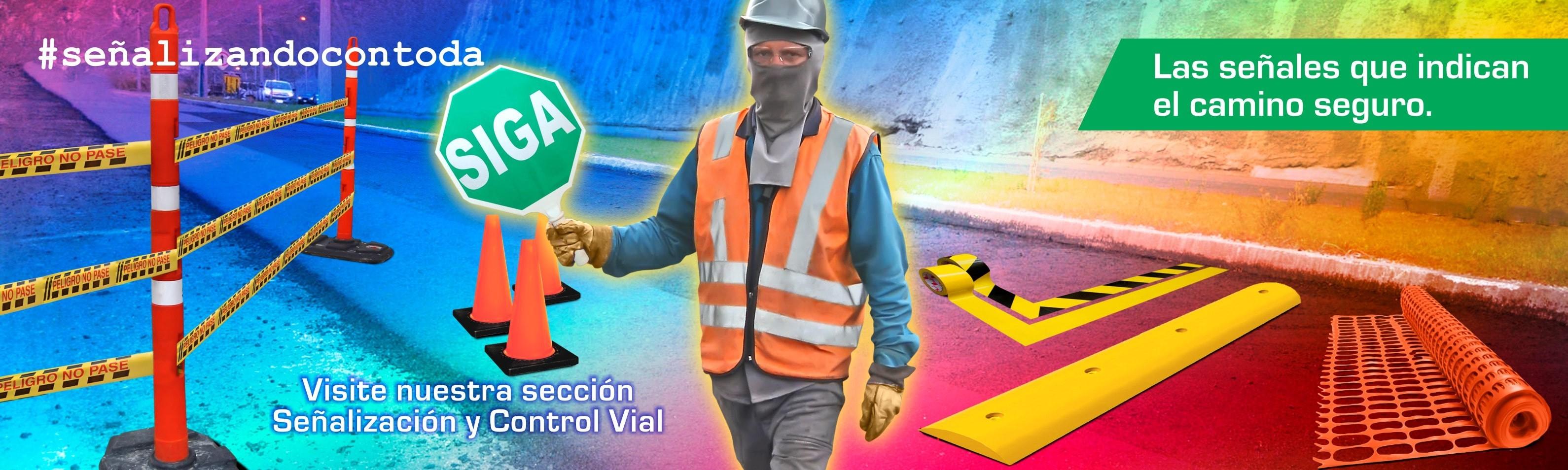 Señalización y control vial