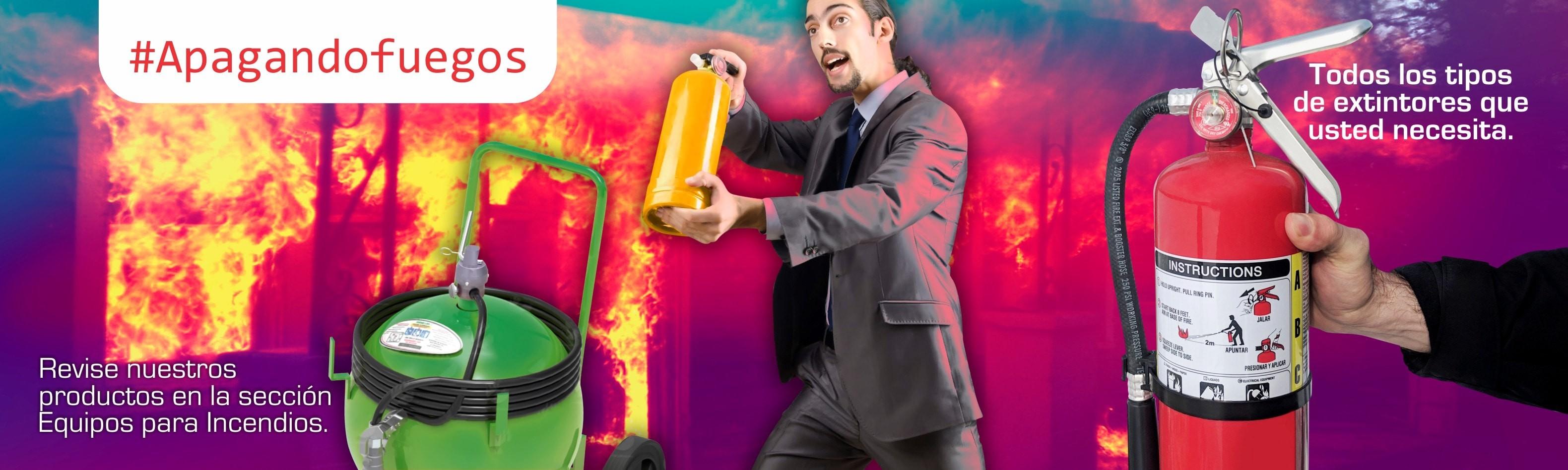 Extintores de todo tipo