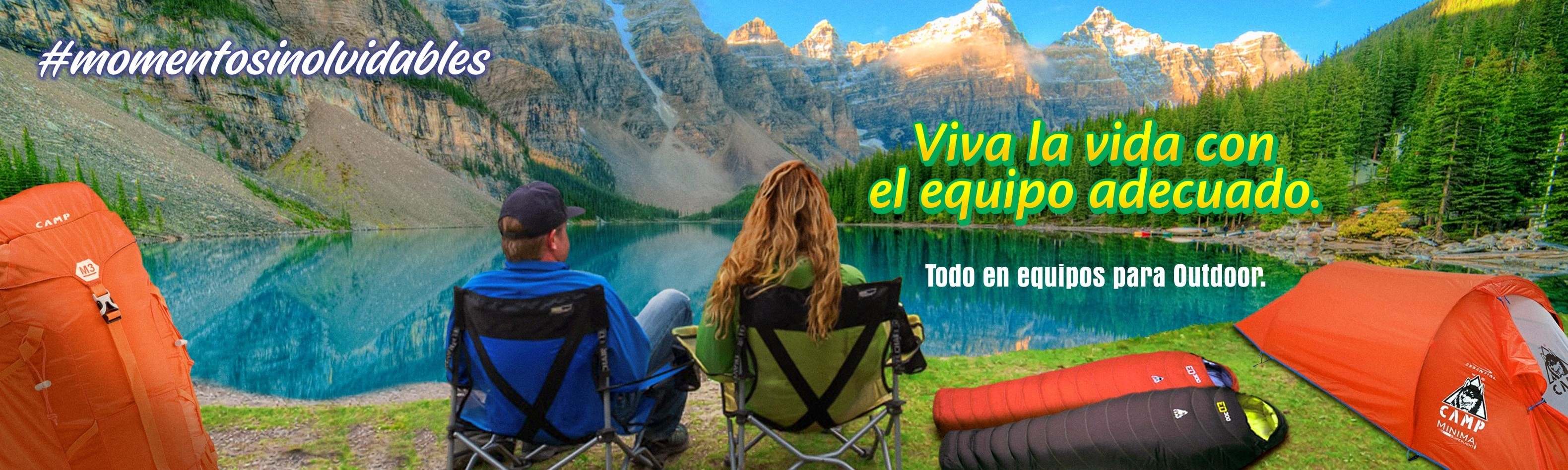 Todo en equipos para camping, escalada y actividades al aire libre en Colombia